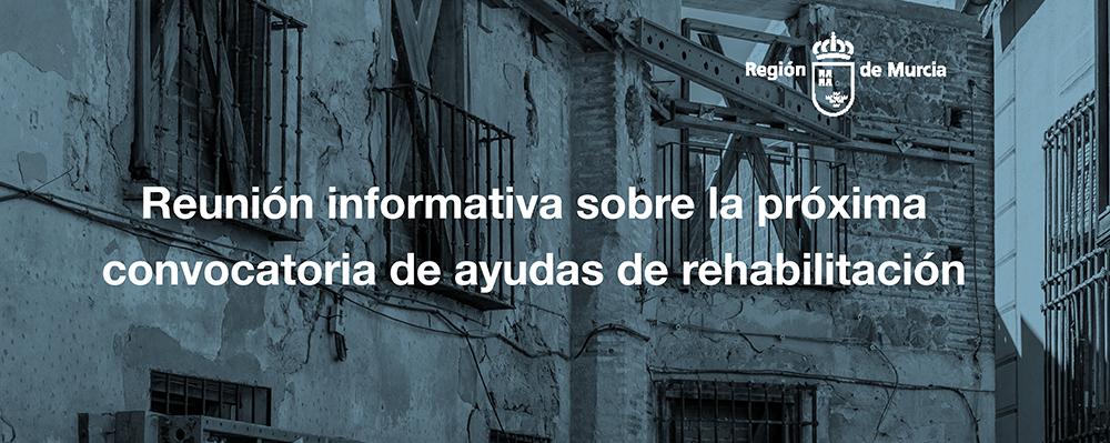 Reunión informativa sobre la próxima convocatoria de ayudas de rehabilitación con la asistencia del Consejero de Fomento